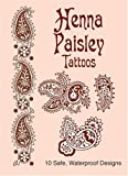 Anna Pomaska Henna Paisley Tattoos (Dover Tattoos)