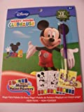 Disney Mickey Mouse Clubhouse Magic Paint Posters by Savvi ~ 12 Posters Plus Paint Brush
