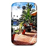 VQsGEOh670poIZF Snap On Case Cover Skin For Galaxy S3(backyard To The Harbor)