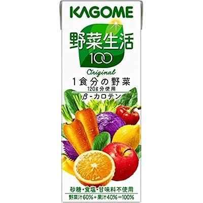 ▶︎カゴメ 野菜生活100 オリジナル 200ml×24本の購入はこちら♩