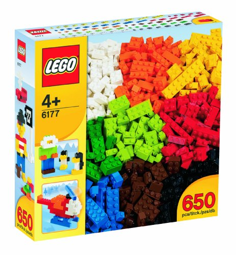 Lego 4+ Basic Bricks - 650 pcs