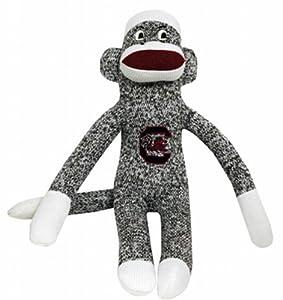 NCAA South Carolina Fighting Gamecocks Plush Sock Monkey
