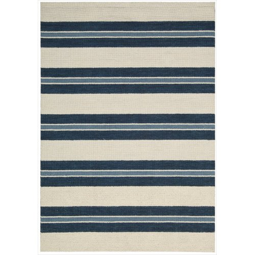 Barclay Butera OXFD2 BBL2 Oxford Rectangle Handmade Rug, 3.6 by 5.6-Inch, Awning Stripe
