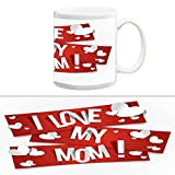 TIA Creation I Love My Mom Mug, Best for Everyday Gifts