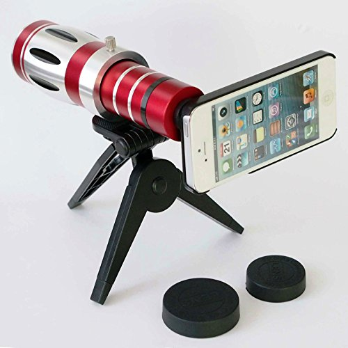 Giftsbox 20X Telescope Camera Lens Aluminum Mobile Phone Telephoto Lens For Iphone 4 4S