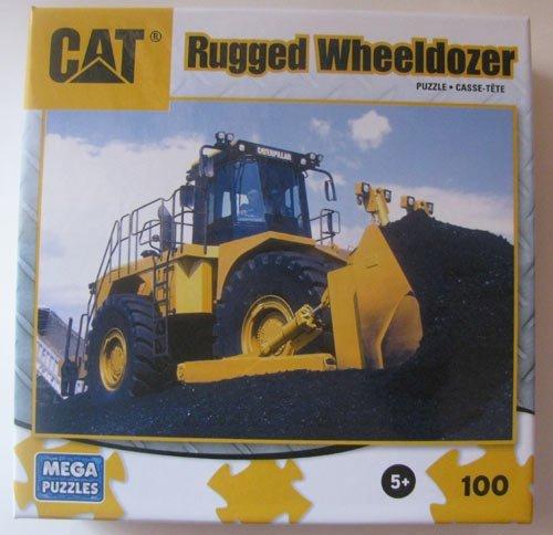CAT Rugged Wheeldozer 100 Piece Puzzle - 1