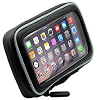 ARKON Adhesive Motorcycle Gas Tank Smartphone Mount Holder for Apple iPhone 6 Plus, Samsung Galaxy Note 4/3, Galaxy S5/LG/G3 - Retail Packaging - Black from Arkon