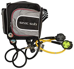 Seac Diving Regulator + Octopus + Console 2 Complete Set with Bag by SEAC