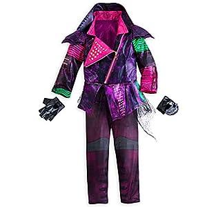 Disney Store Deluxe Descendants Mal Costume For Girls - Size 9/10