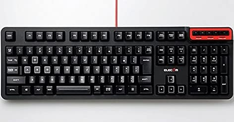エレコム MMOゲーミングキーボード/DUXシリーズ/エントリーモデル