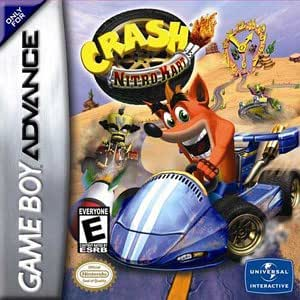 Crash Nitro Kart - Game Boy Advance