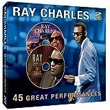 echange, troc Ray Charles - 45 Great Performances