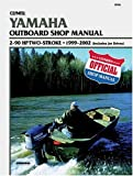 51V6R4GQ6TL. SL160  Yamaha Outboard Shop Manual: 2 90 Hp Two Stroke, 1999 2002 (Includes Jet Drives (Clymer Marine Repair)
