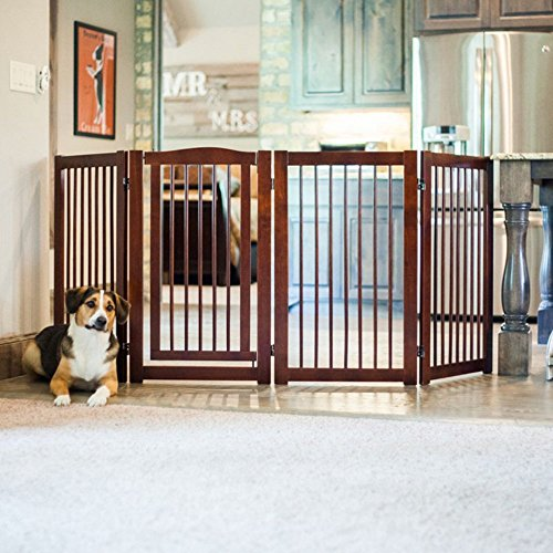 Primetime Petz 360 Degree Configurable Gate With Door - 36 Inch Height front-41430