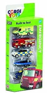 Corgi Toys Emergency Services Vehicle (Pack of 5)