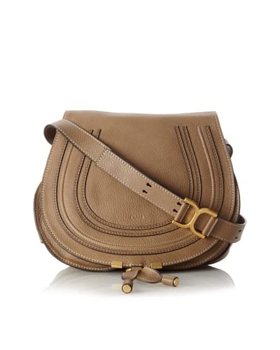Chloé Women's Marcie Medium Cross-Body, Nut