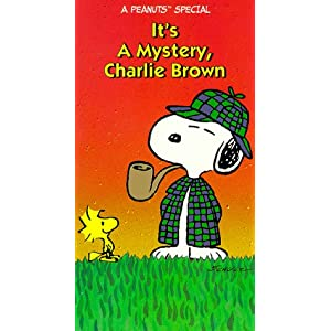 It's a Mystery, Charlie Brown [VHS]