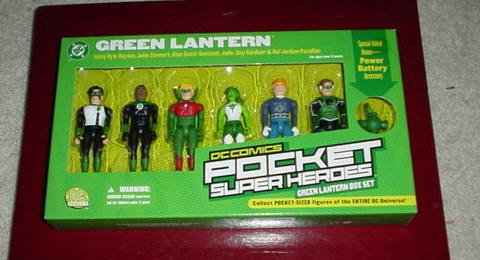 Picture of DC Direct Green Lantern Box Set of 3