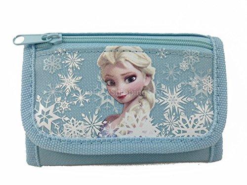 Disney Frozen Elsa Baby Blue Tri-fold Wallet - 1