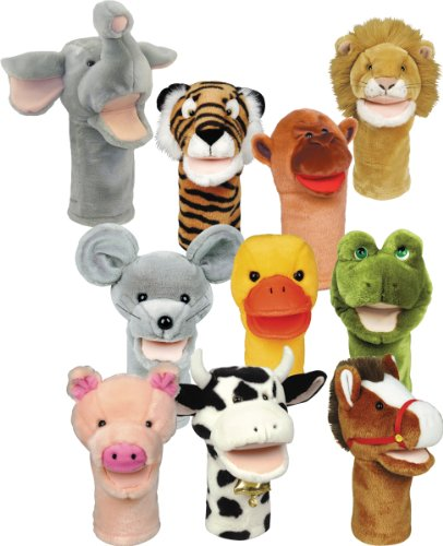 Get-Ready-Kids-Bigmouth-Animal-Puppets-Set-of-10