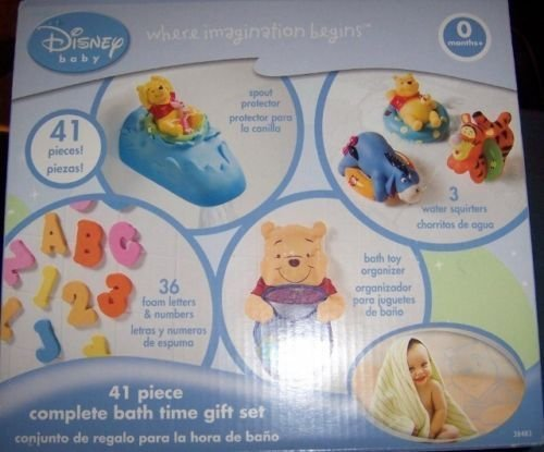 Disney 41 Piece Complete Bath Time Gift Set - 1