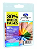 Jettec LC980 / LC1100 Cyan Brother Compatible Printer Ink Cartridge for Brother DCP 145C 163C 165C 167C 193C 195C 197C 365CN 373CW 375CW 377CW 6690CW MFC 250C 255CW 257CW 290C 295CN 297C