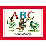 Cavallini ABC Flash Cards with Animal Images