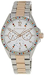 Giordano Analog White Dial Womens Watch - A2002-55
