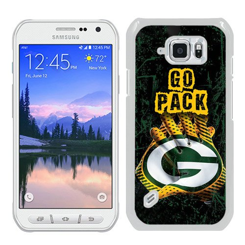 Generic Green Bay Packers White Samsung Galaxy S6 Active Shell Phone Case,Luxury Cover