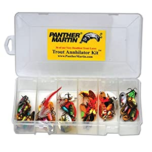 Panther Martin Trout Kit, 36 Piece by Panther Martin