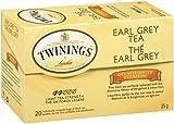 Twinings Earl Grey Decaf Tea, Tea Bags, 20-Count Boxes (Pack of 6)