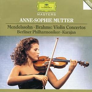 Mendelssohn/Brahms: Violin Concertos