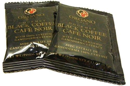 Pack Of 5 Sachet Organo Gold Ganoderma Gourmet - Black Coffee
