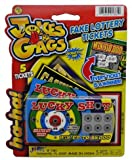 J & G Fake Lottery Tickets - 1 Pack by JaRu