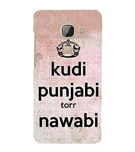 Kudi Punjabi 3D Hard Polycarbonate Designer Back Case Cover for LeEco Le 2s :: Letv 2S :: Letv 2