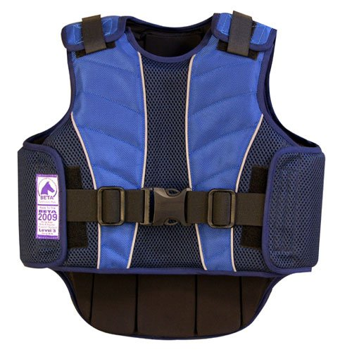 Intrepid International Kid's Safety Supraflex Vest Protector, Medium, Navy (Protective Horse Riding Vest compare prices)