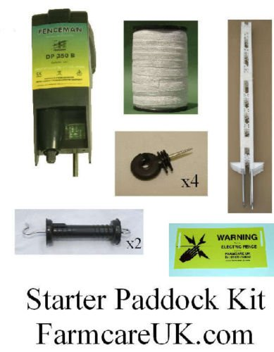 Farm Care Electric Fencing / Fence Paddock 4FT Kit