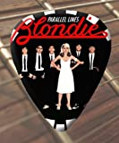 Blondie Parallel Lines Premium Guitar Picks x 5 Medium