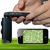 iphone5用LED付マイクロスコープ 顕微鏡 MS100-IP5-31004