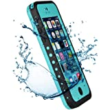 Patec® Waterproof Shockproof Dirt Snow Proof Case Cover for Apple iPhone 5C - Indigo