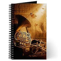 CafePress Forgotten French horn music - Journal - Standard Task Journal by CafePress