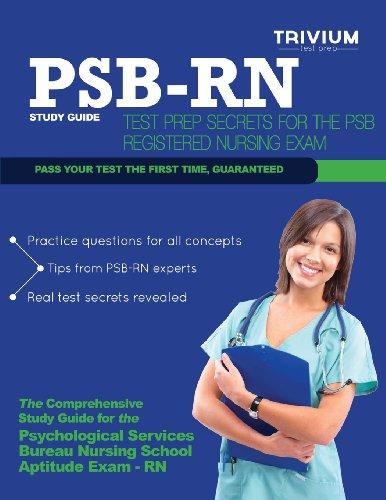 Psb Rn Study Guide: Test Prep Secrets For The Psb Registered Nursing Exam