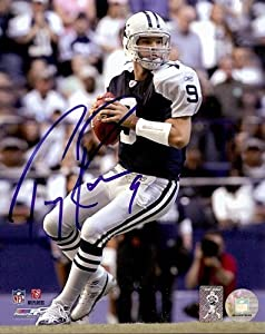 Tony Romo Autographed/Signed Dallas Cowboys 8x10 NFL Photo