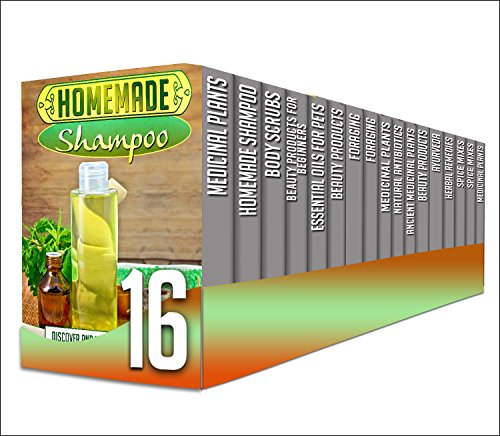 Homemade Shampoo: 16 in 1 Box Set - Discover The Benefits Of Making Your Own Homemade Shampoo And A Lot More in This 16 In 1 Box Set (medicinal plants, ... body scrubs, beauty products, foraging) by A. Cherryson, J. Soniashire, S. Sheverlene, S. McMahonshine, L. Dugansons, Y. Vossler, V. Sandmeryll, B. Glidewell, S. Glidewell, C. Mckenzie