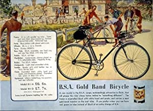 BSA Gold Band Bicycle - Vintage Mouse Mat