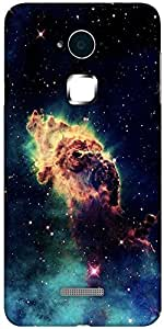 Snoogg Meteorite space Designer Protective Back Case Cover For Coolpad Note 3 (White, 16GB)