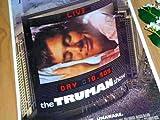 1.小ポスター、アメリカ版「トゥルーマン・ショー」ジム・キャリー