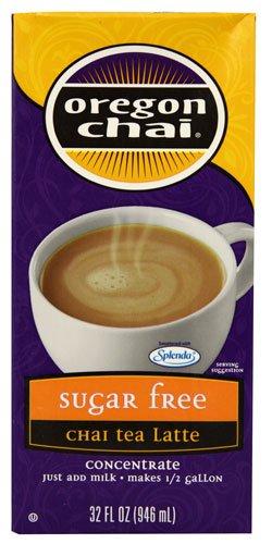 Oregon Cafe Chai Tea Latte Sugar Free -- 32 fl oz