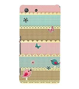 Multicolor Pattern 3D Hard Polycarbonate Designer Back Case Cover for Sony Xperia M5 Dual E5633 E5643 E5663 :: Sony Xperia M5 E5603 E5606 E5653