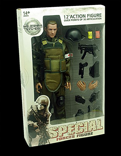 """Collection 12"""" Action Figure Suit Model 1/6 Military Soldier SUPER Toys Combat Cosplay Gift"""